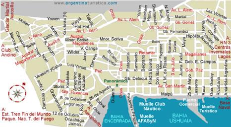 Ushuaia_Mapa_da_Cidade